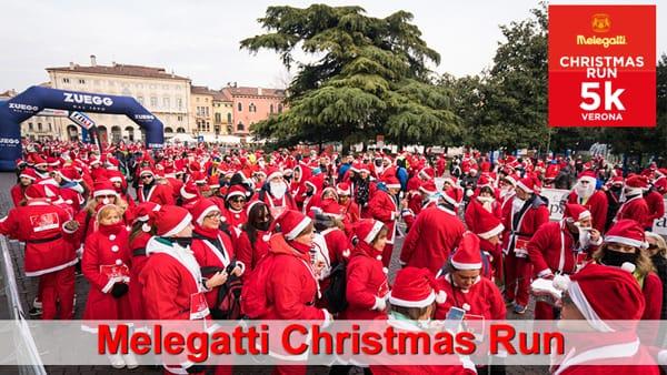 "A Verona l'imperdibile corsa dei Babbi Natale ""Melegatti Christmas Run"""