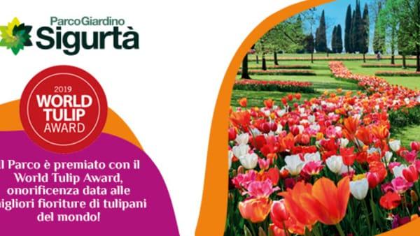 Sigurtà, destinazione mondiale da visitare per la fioritura dei tulipani