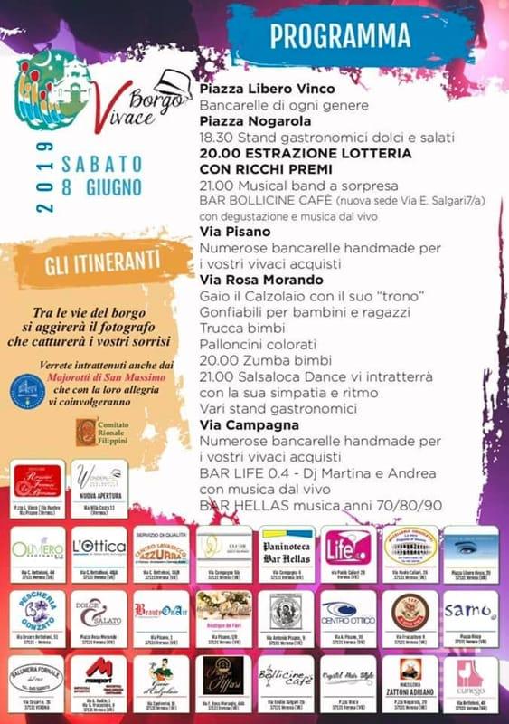 notte bianca borgo venezia 2019 programma