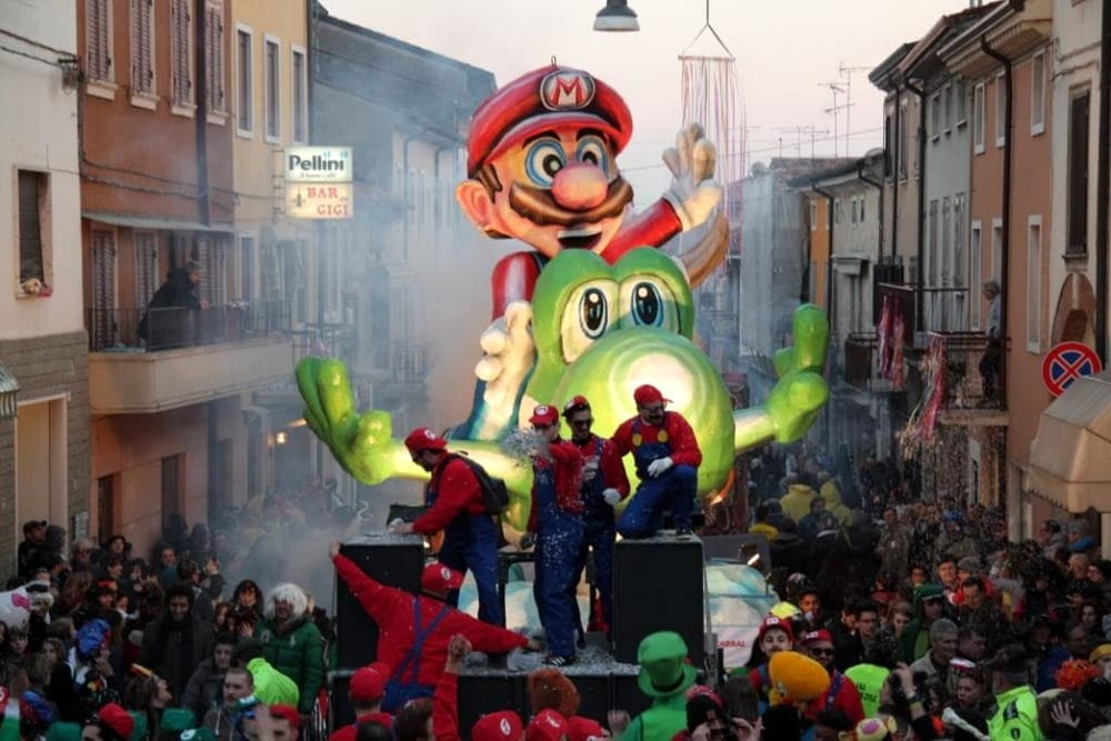 Carnevalon 2015 - Super Mario Bross - Gruppo Capoline - Foto di Sandro Brandiele