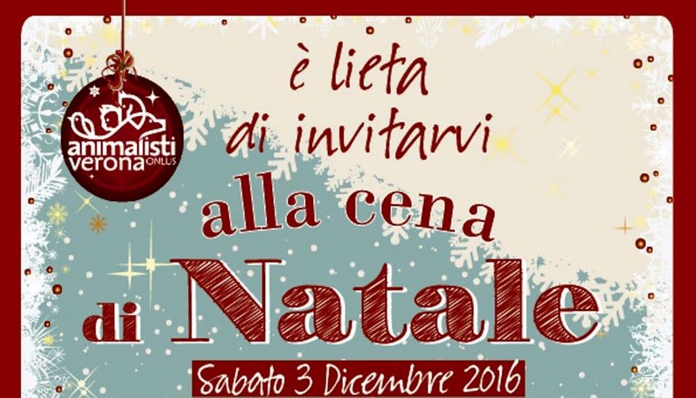 Cena Auguri Di Natale.Il 3 Dicembre La Cena Di Auguri Di Natale 2016 Con Animalisti Verona Onlus Eventi A Verona