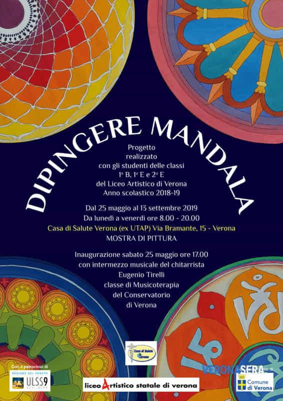 Mostra Di Pittura Alla Casa Di Salute Verona Da Titolo Dipingere Mandala Eventi A Verona