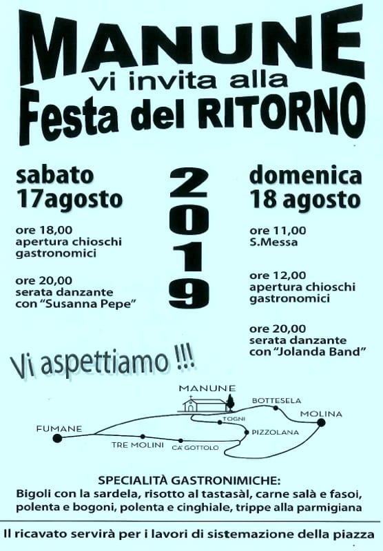 festa ritorno 2019