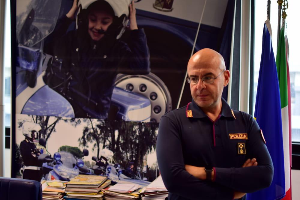 Dott. Girolamo Lacquaniti, Dirigente della Sezione Polizia Stradale di Verona