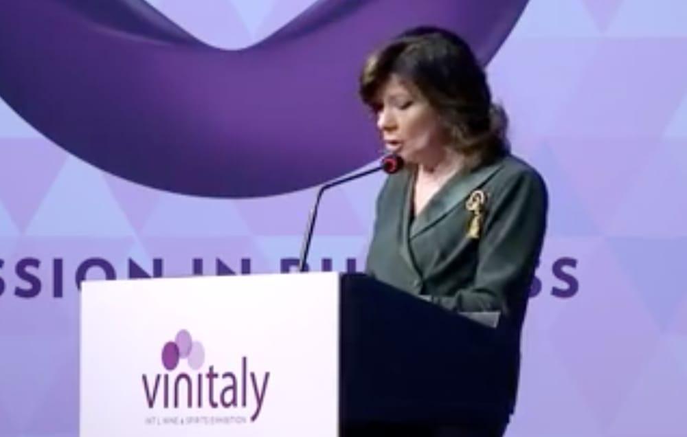 maria elisabetta alberti casellati veronafiere vinitaly 2019