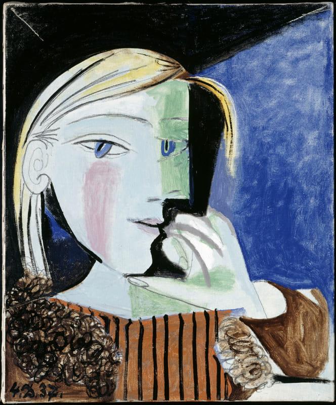 """Pablo Picasso """"Portrait de Marie-Thérèse"""""""
