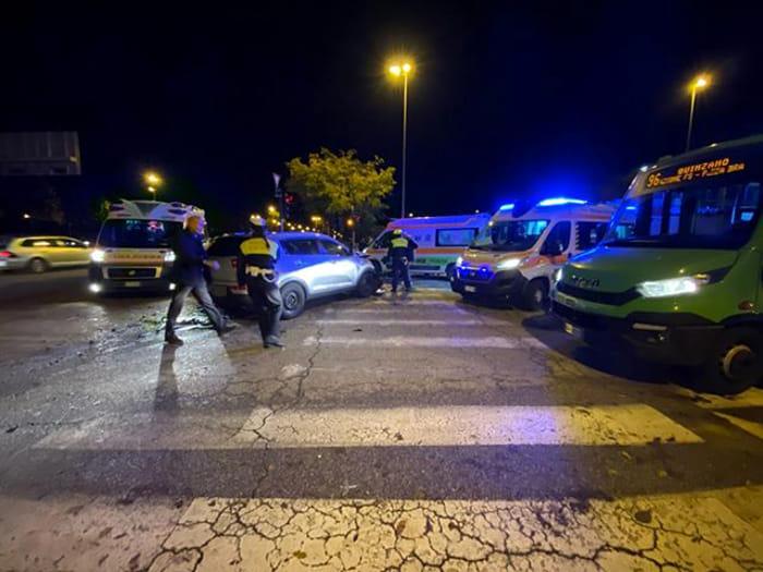 incidente via città di nimes verona3